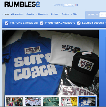 rumbles website home page